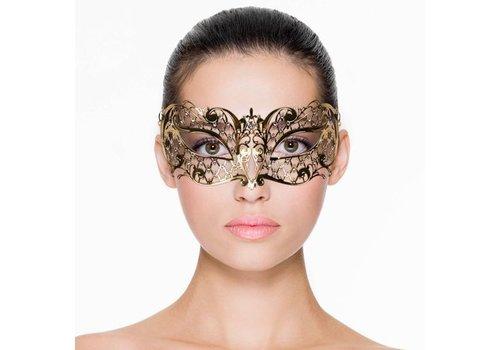 Easytoys Venetiaans Masker Metaal - Goud