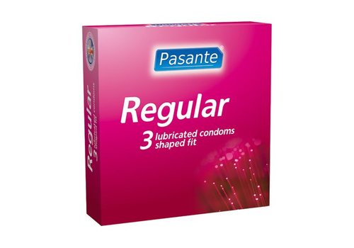 Pasante Regular condoms 3 stuks