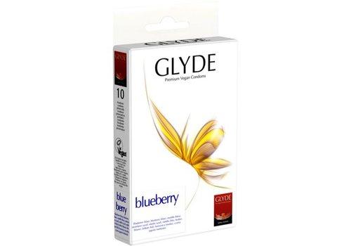 Glyde Ultra - Bosbes - 10 blauwe Condooms