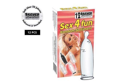 Secura Sex4fun Condooms - 12 stuks