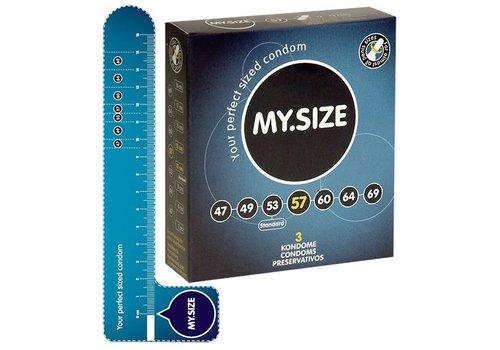 MY.SIZE 57 mm 3 stuks