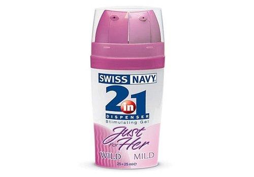 Swiss Navy 2-in-1 Opwindingsgel voor haar