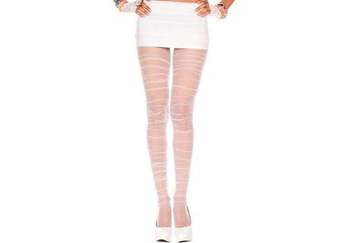 Geplooide Panty - Wit