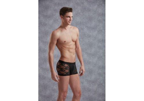 Doreanse Kanten Boxer - Zwart