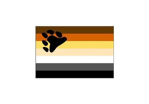 Gay Pride Bear Flag 90 x 150 cm