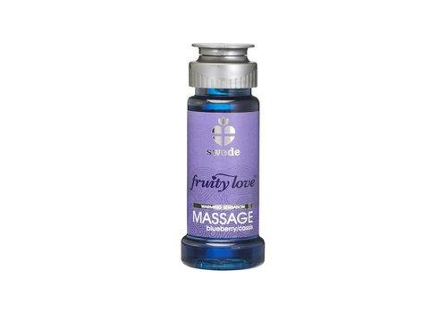 Swede - Fruity Love Massage Bosbes / Cassis 50 ml