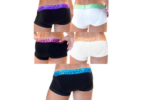 Rounderbum Lift My Day 5-Pack Underwear Multicolor