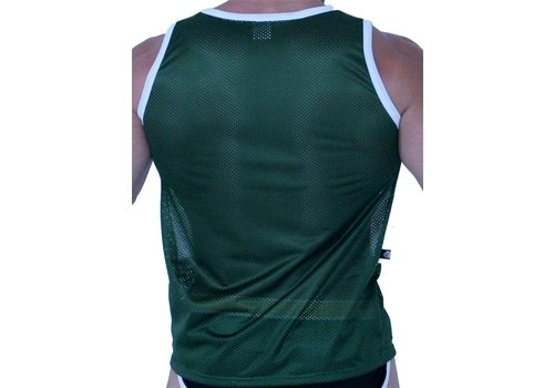 GBGB Jackson Muscle Tank Top Gold/White/Green