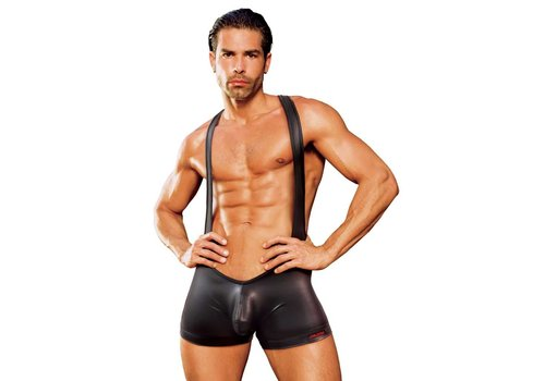 Falcon Wet Look Wrestling Singlet/Body