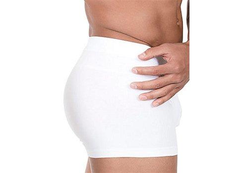 Rounderbum Package Lift Boxer Brief Underwear White
