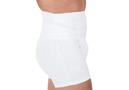 Rounderbum Slim Fit Boxer Brief Underwear White