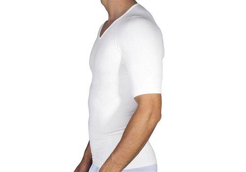 Rounderbum Compression T-Shirt Seamless White