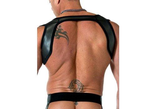 665 Leather Neoprene Slingshot Harness Black/Black