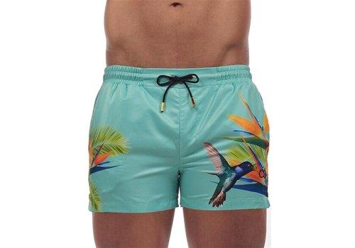 2Eros Birds Of Paradise Swim Shorts Swimwear Multicolor