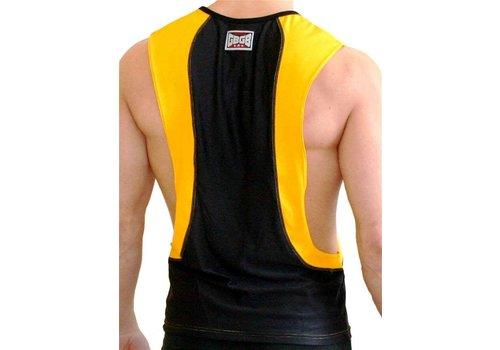 GB2 Arnold Training Muscle Tank Top Black/Yellow
