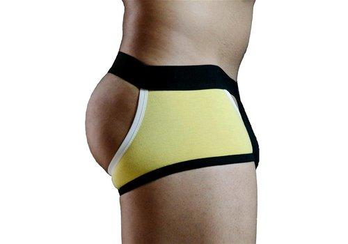 GBGB Mason Boxer Thong Underwear Yellow/Black