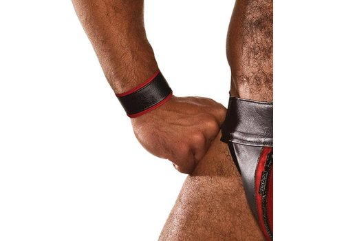Colt Leather Wrist Strap - Red