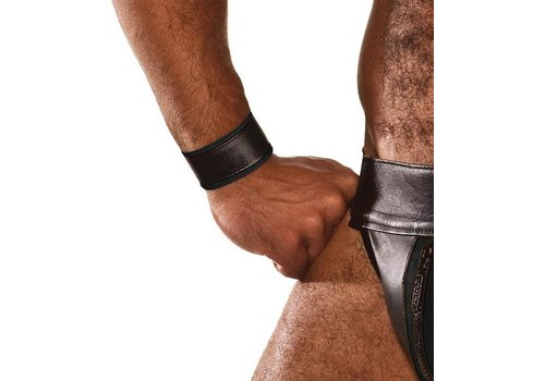 Colt Leather Wrist Strap - Black