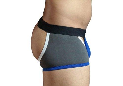 GBGB Mason Boxer Thong Underwear Charcoal/Royal