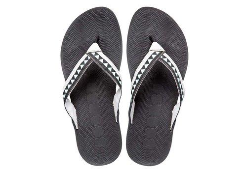 Boombuz Taiga Half-Dressed Mens Flips Black/Grey