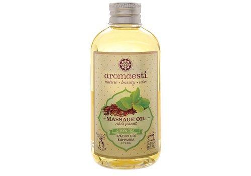 Natuurlijke Massage-olie Groene Thee (euforisch) 200ml