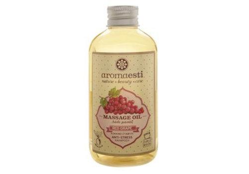 Natuurlijke Anti-Stress Massage-olie rode druif (200ml)