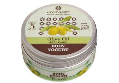Handgemaakte Body yoghurt olijfolie