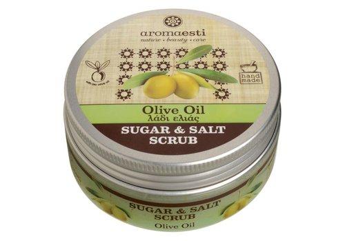 Aromaesti Sugar & salt scrub olijfolie