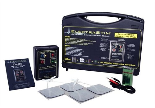 ElectraStim Electro Sex Adventure Pack With Pads