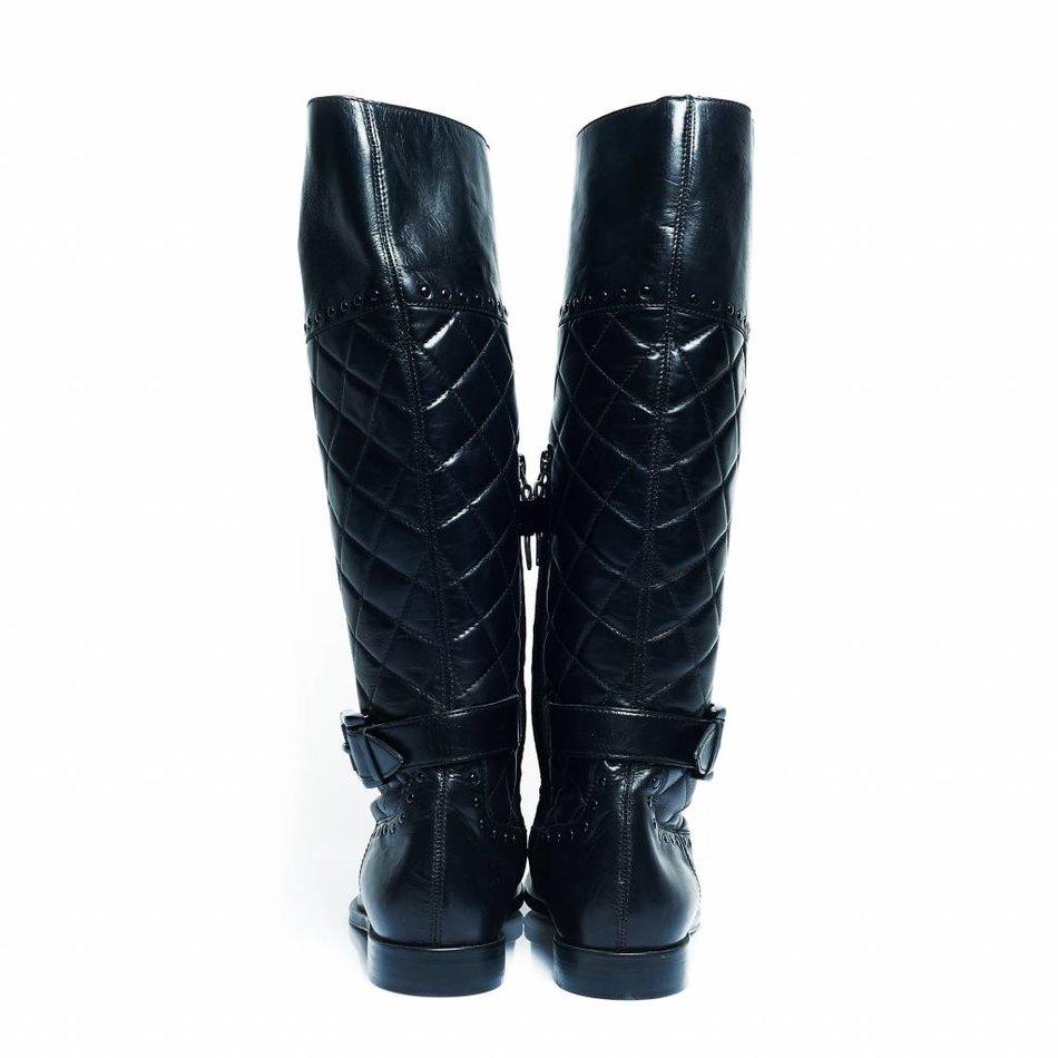 burberry black boots