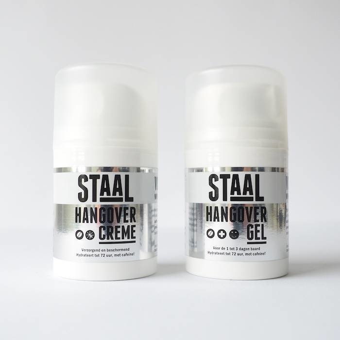 Duo STAAL Hangover  Crème en Gel, geen verzendkosten