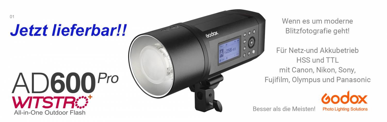 GODOX AD600pro - der Beste