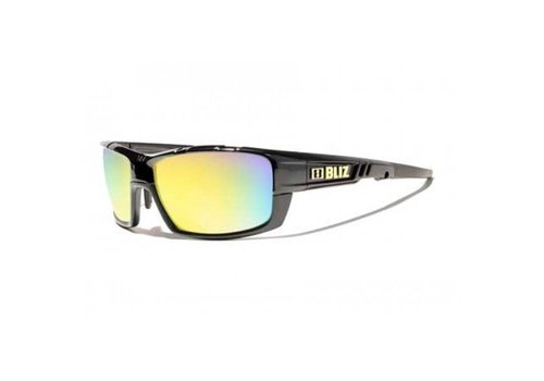 Bliz Tracker Black Smoke w. Gold Multi Lenses