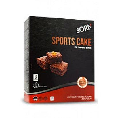 Born Born Sports Cake (3 x 133gr) Chocolade