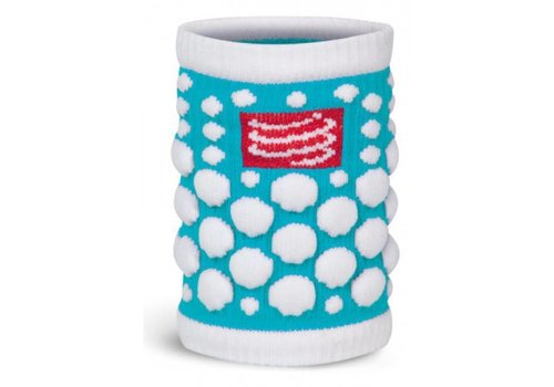 Compressport 3D Zweetband Ice Blue