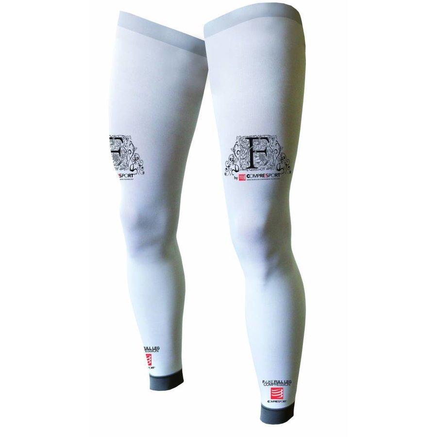 Compressport Full Legs Wit