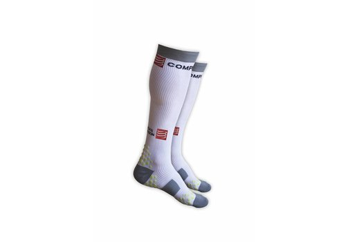Compressport Full Socks Wit 3D. DOT - maat: WC