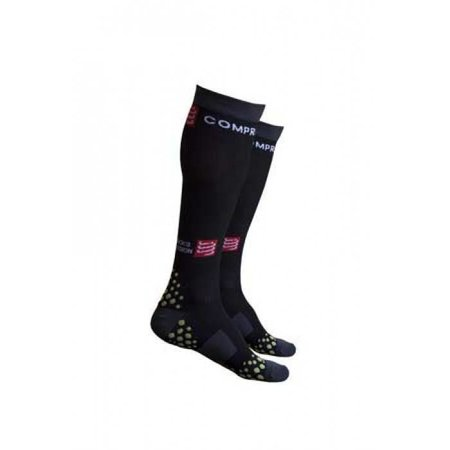 Compressport Compressport Full Socks Zwart 3D. DOT - Maat: S1