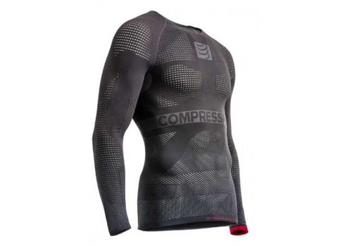 Compressport ON/OFF Multisport ondershirt lange mouwen Grijs