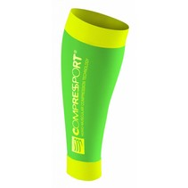 Compressport R2 Race Recovery Fluo Groen