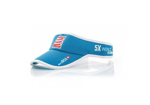 Compressport Visorcap Blauw