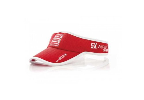 Compressport Visorcap Rood