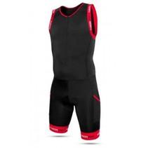Fusion Multisport Tri Suit Wit / Zwart