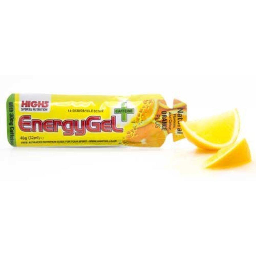 High5 Energiegel Plus Cafeine (38gr)