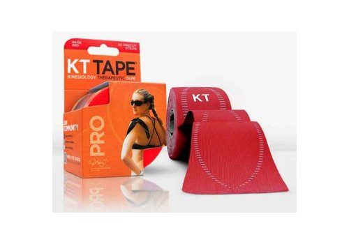 KT Tape PRO Sonic Rood 5m Precut