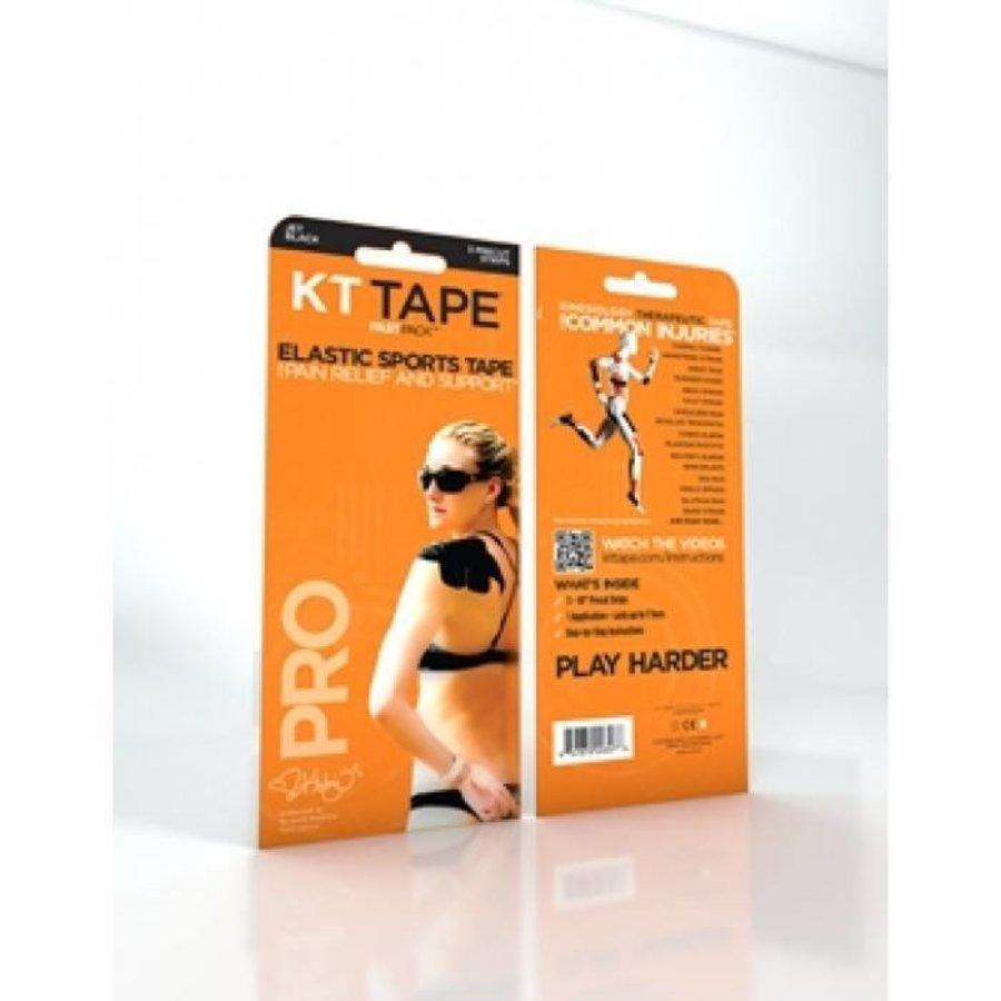 KT Tape PRO Zwart Fastpack