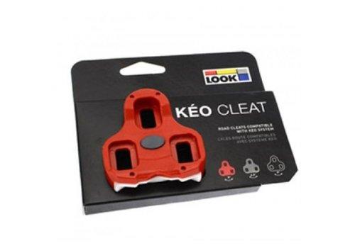 Look Keo Schoenplaat (Rood)