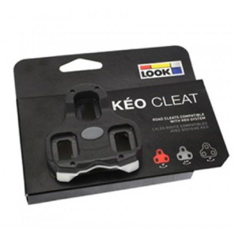 Look Keo Schoenplaat (Zwart)-1