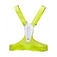 Nathan Nathan LightFit Reflectie hardloopvest Fel Geel
