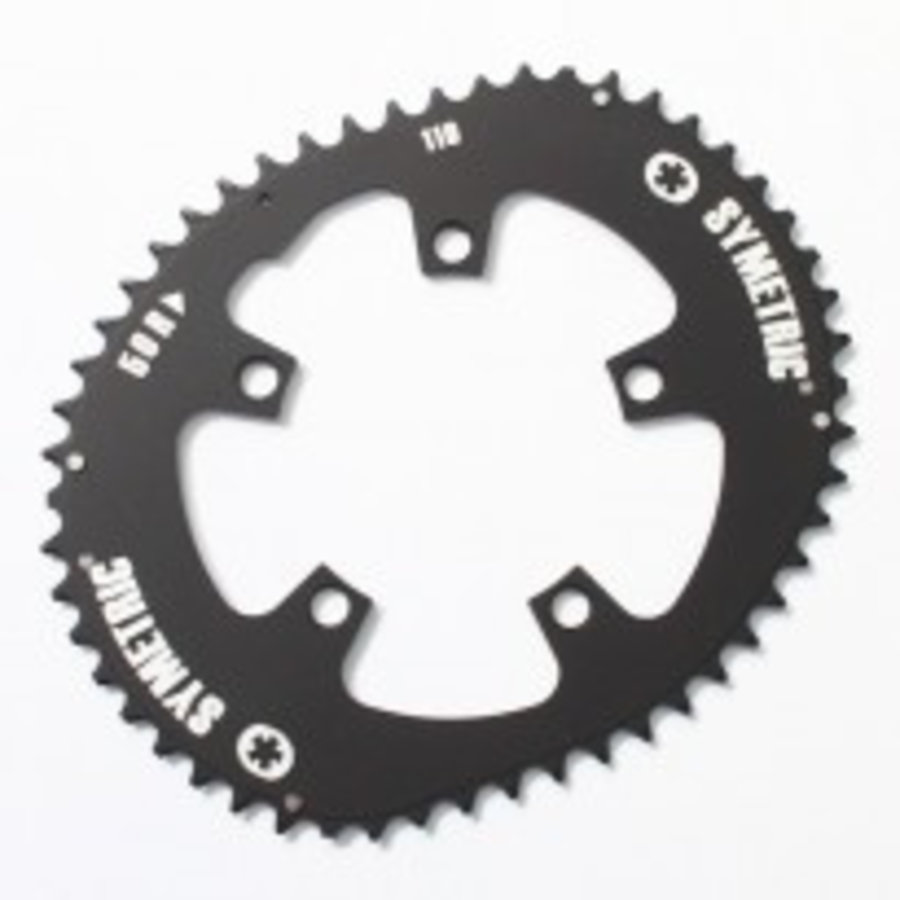 O-Symetric Kettingblad Race Compact Shimano (5 gaats)-2
